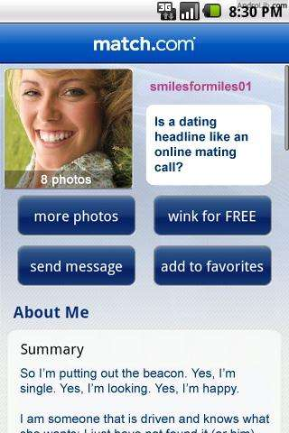 Match me app